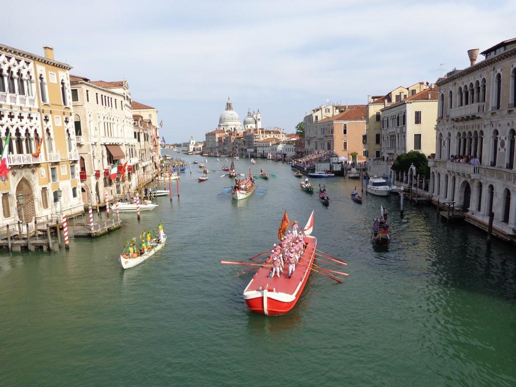 Историческата регата във Венеция