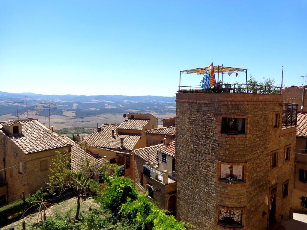 Поглед от Волтера към хълмовете на Тоскана