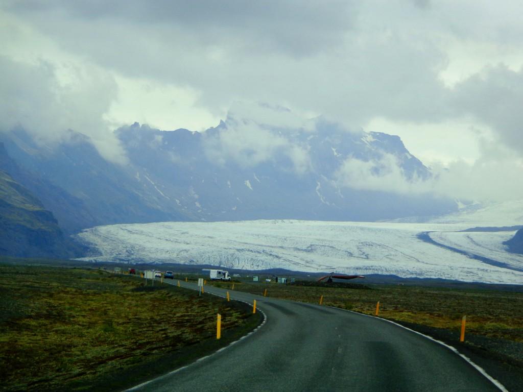 Пътят към ледника Ватнайокутл