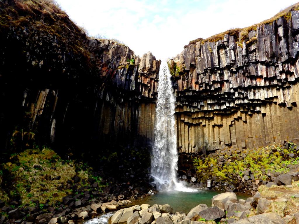 Водоподът Свартифос и шестоъгълните му колони