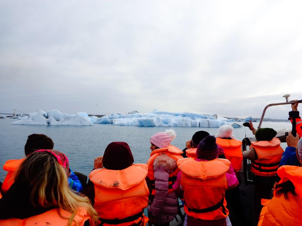 Ледниковата лагуна Йокулсарлон - 1