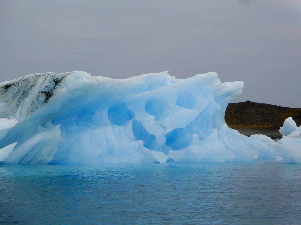 Ледниковата лагуна Йокулсарлон - 2