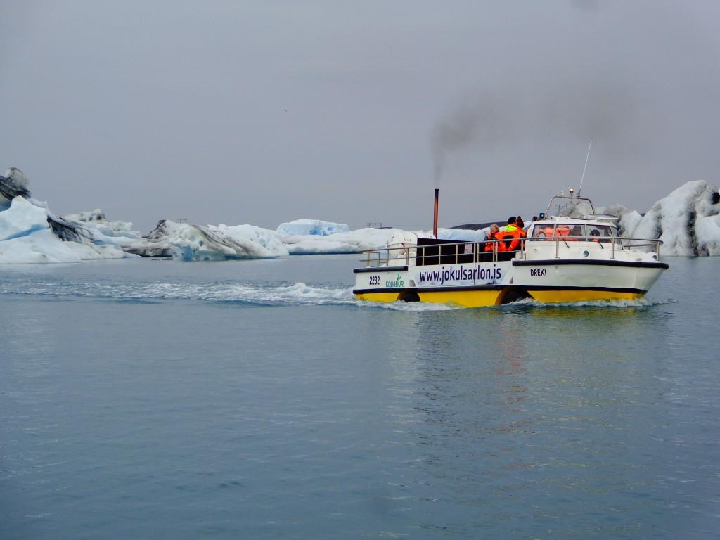 Ледниковата лагуна Йокулсарлон - 7