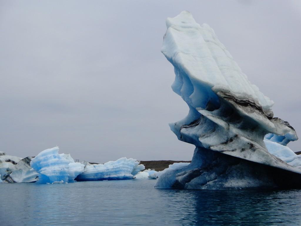 Ледниковата лагуна Йокулсарлон - 8