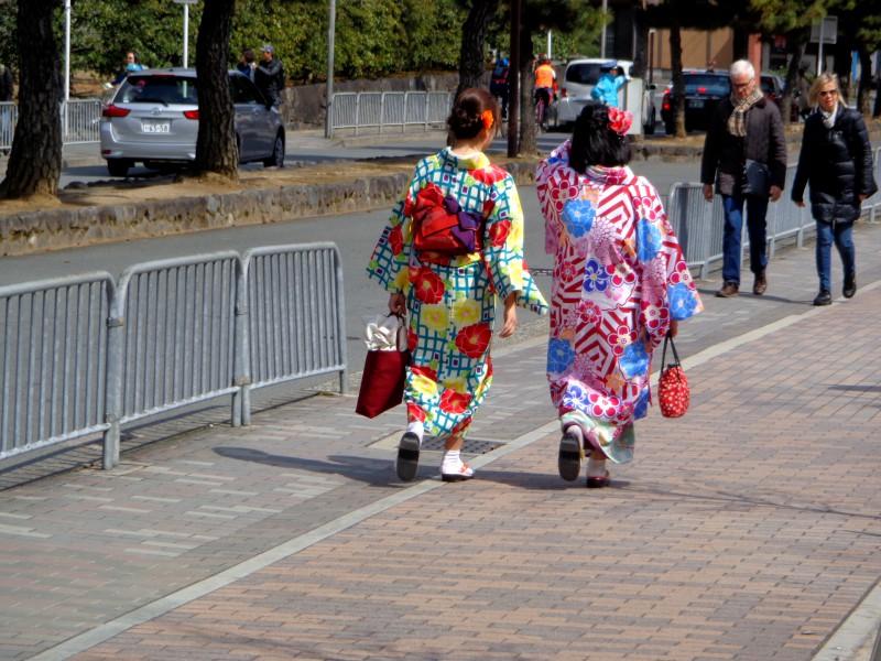 По улиците на Киото