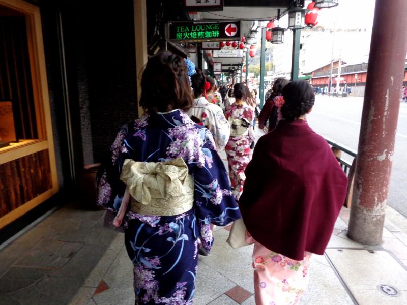 """Киото - по прочутата улица """"Шиджо-дори"""" (""""Четвърта улица"""") - 3"""
