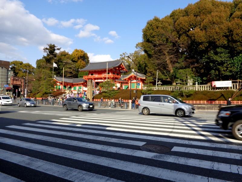 """Храмът """"Ясака"""" в Киото"""