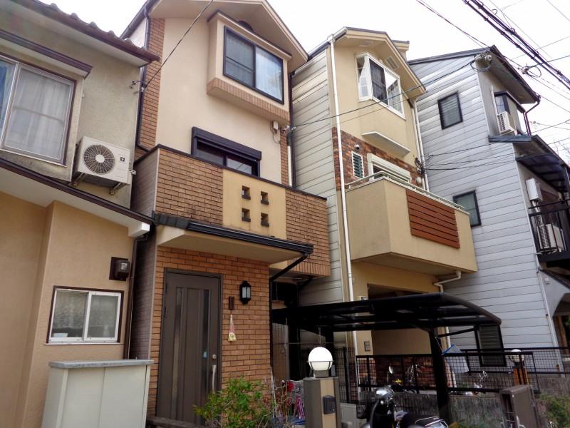 В такива малки домове живеят в Киото