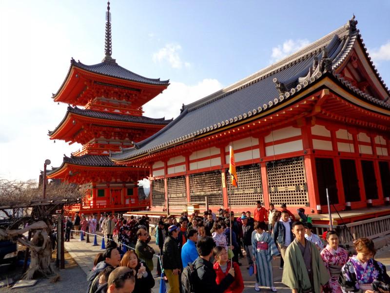 """Киото, будисткият храм """"Киумизу-дера"""", """"Храмът на чистата вода"""" - 2"""