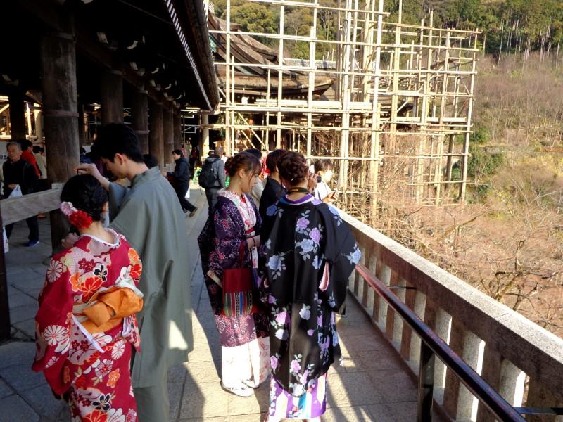 """Киото, будисткият храм """"Киумизу-дера"""", """"Храмът на чистата вода"""" - 3"""