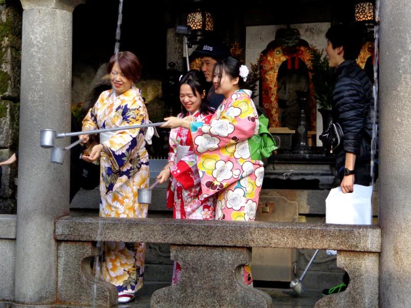 """Киото, будисткият храм """"Киумизу-дера"""", """"Храмът на чистата вода"""" - 4"""