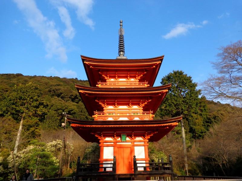 """Киото, будисткият храм """"Киумизу-дера"""", """"Храмът на чистата вода"""" - 5"""