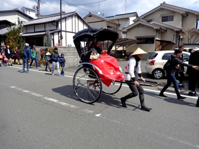 Рикша в Киото
