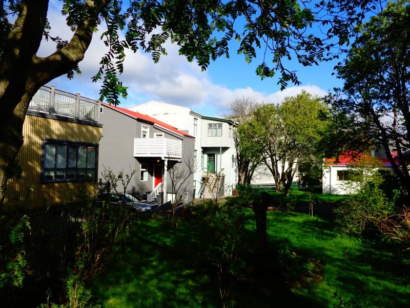 Задните дворове на Рейкявик