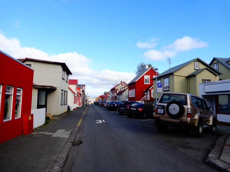 Улица в централен Рейкявик