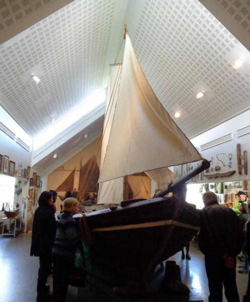 Транспортна исландска лодка с 6 весла