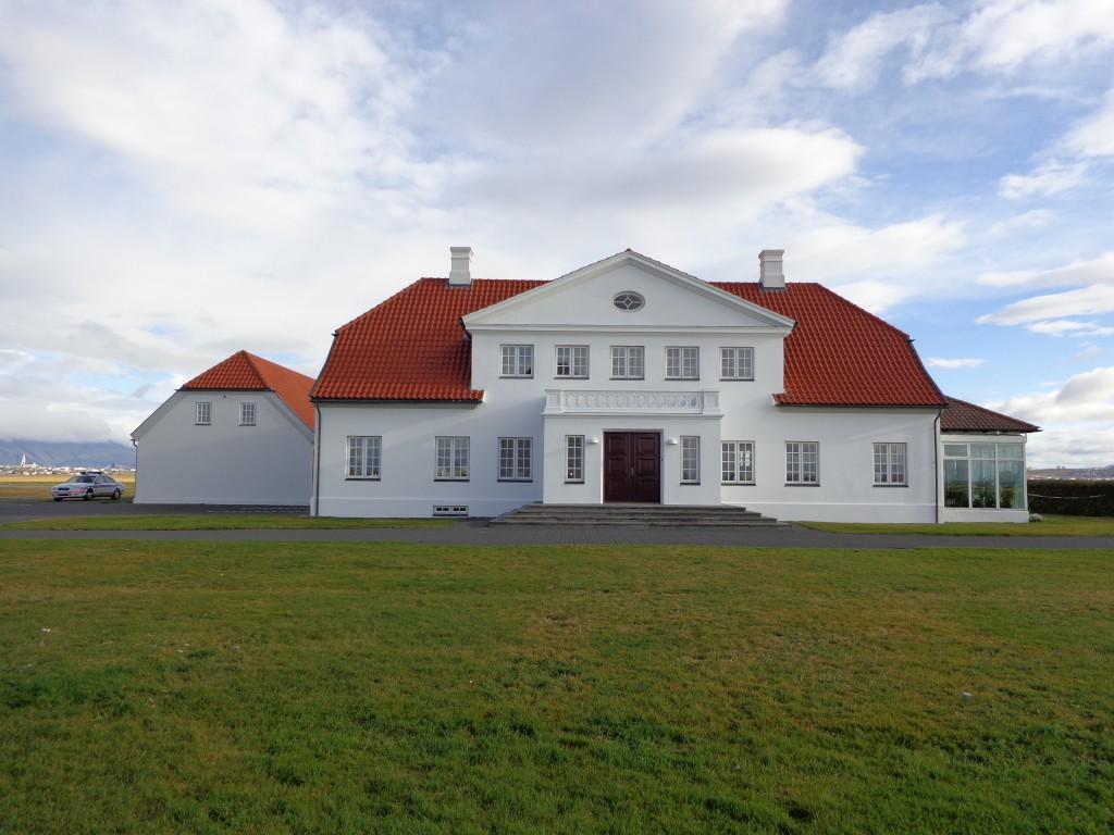 Единствената охрана на исландския президент е полицейско волво
