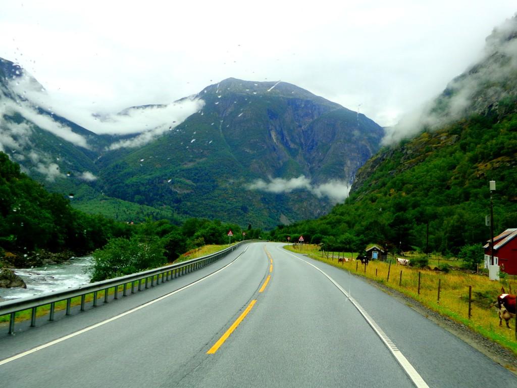 Пътят към Зогнефиорд