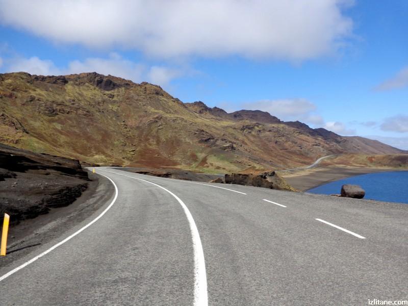 Слава на исландските пътни строители, които покоряват дори и вулканите, и чудовищните ледникови наводнения!