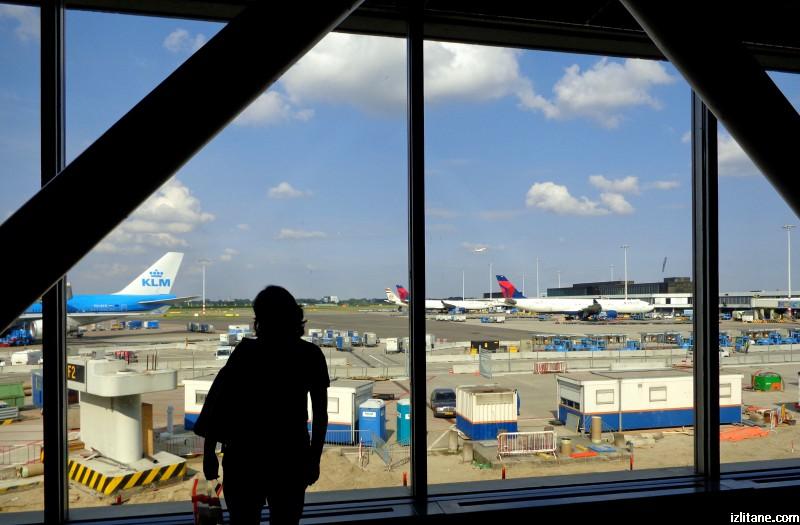 """Летище """"Шипхол"""" в Амстердам"""