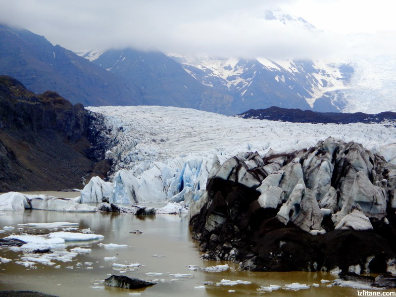 Ледникът Скафтафетлсйокутл- 3