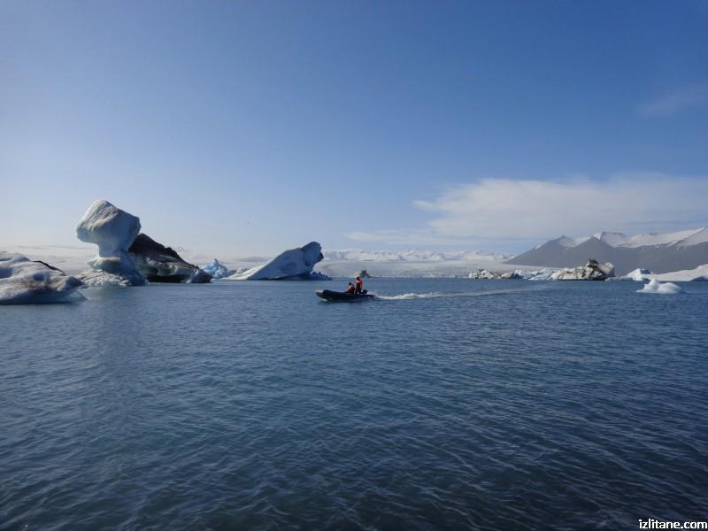 Ледената лагуна Йокулсарлон - 3