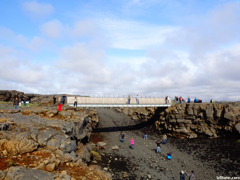 Мост между континентални плочи
