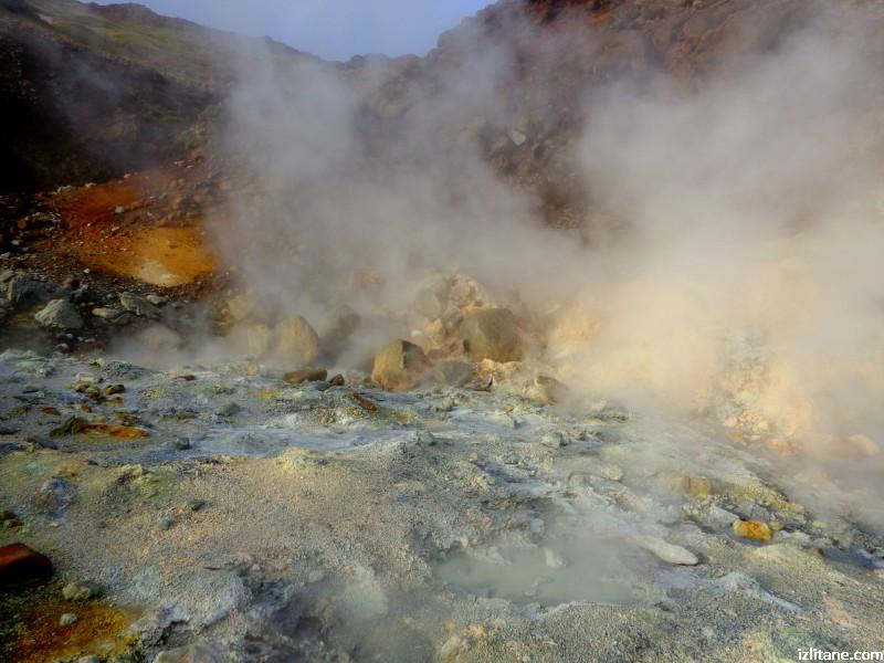 Геотермална дейност в местността Селтун, Крисувик