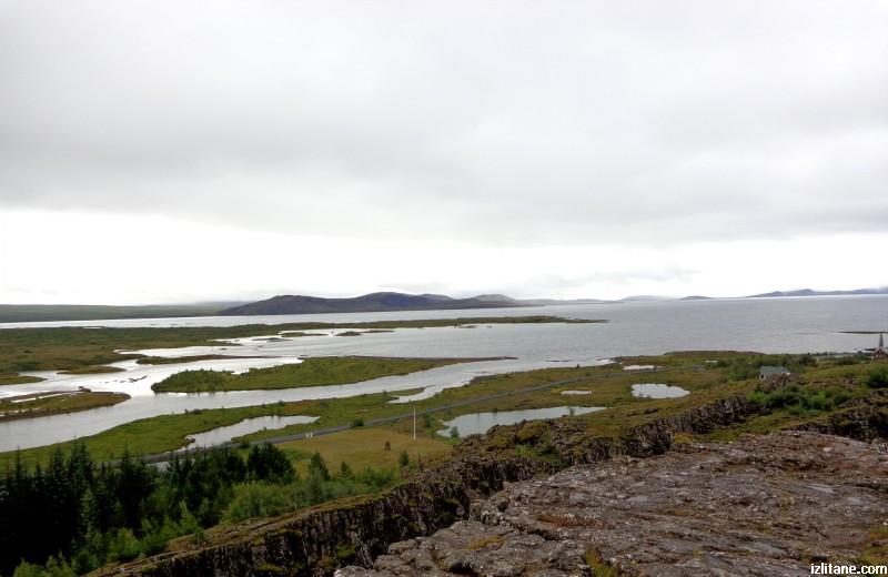 """Национален парк """"Тингветлир"""" и Тингватлаватн - едно от най-голямите исландски езера"""