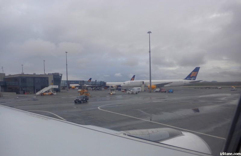 "Летище ""Лейфур Ериксон"" в Кеплавик, Исландия"