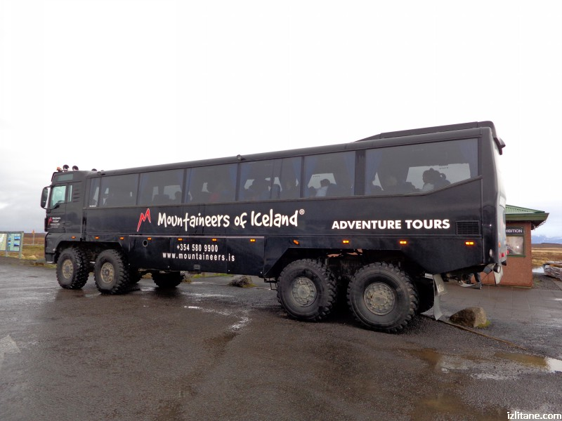 Високопроходим исландски автобус
