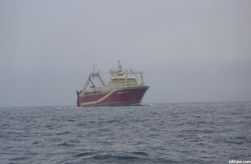"""Най-големият исландски риболовен кораб до 2017 г. """"Кристина"""""""