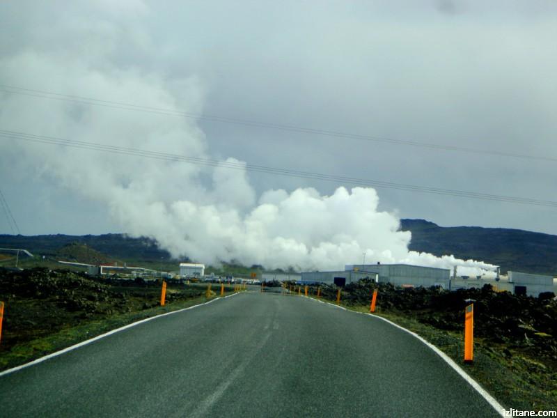 Централата на полуостров Рейкянес произвежда стотици (MW) електричество