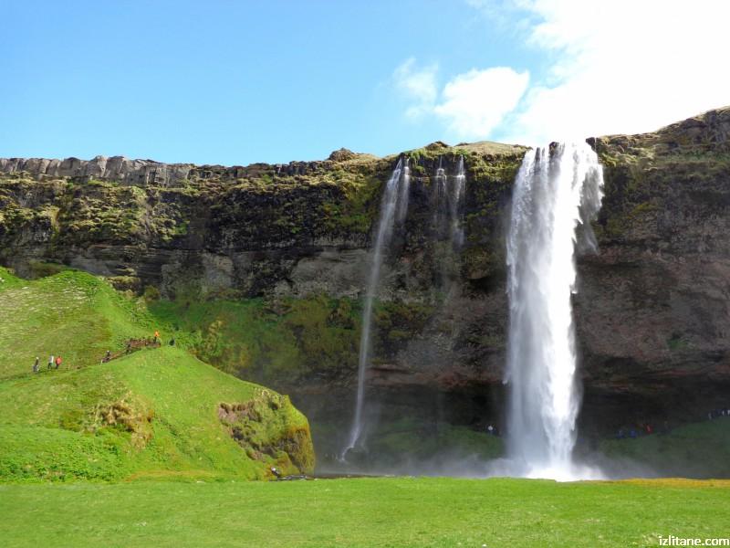 Водопадът Селяландсфос