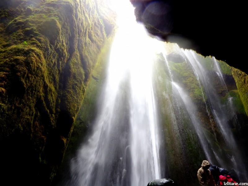 Скритият водопад Глюфрабуи