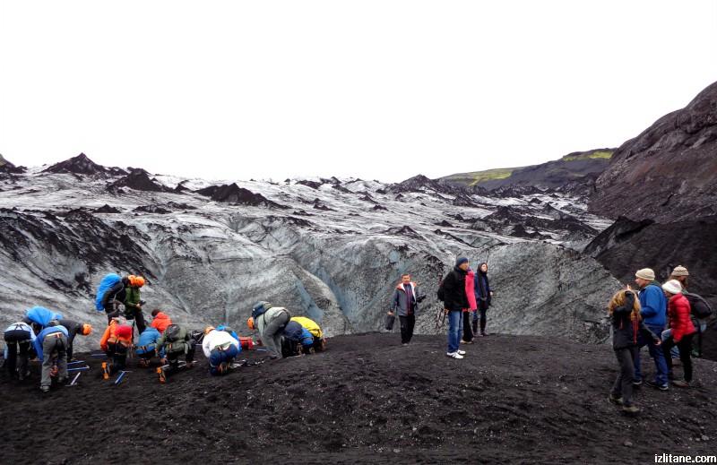 По четвъртият по големина исландски ледник Мирдалсйокутл