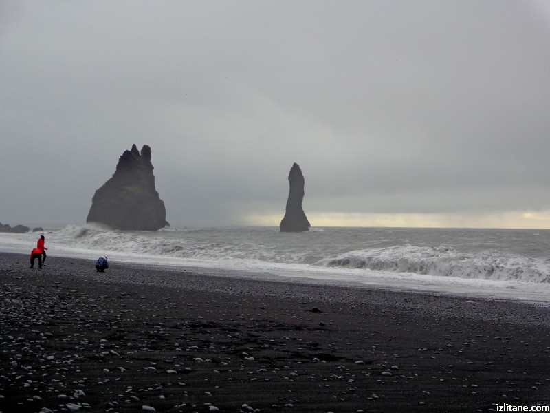 Черният плаж Рейнисфяра - 3