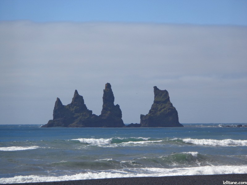 """Трите трола"" в Южна Исландия"