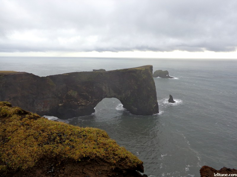Скалната арка на Дирхолей