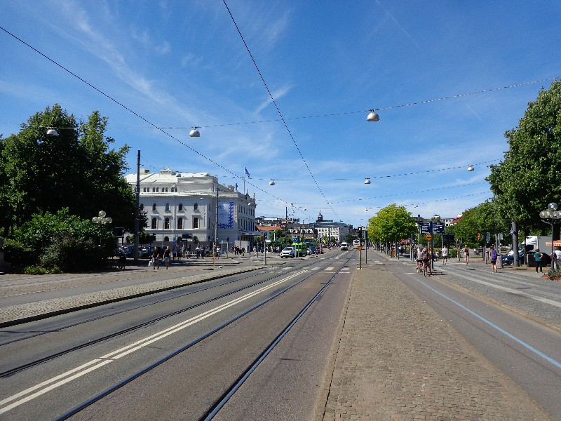 "По ""Авенин"" – главният булевард на Гьотеборг"