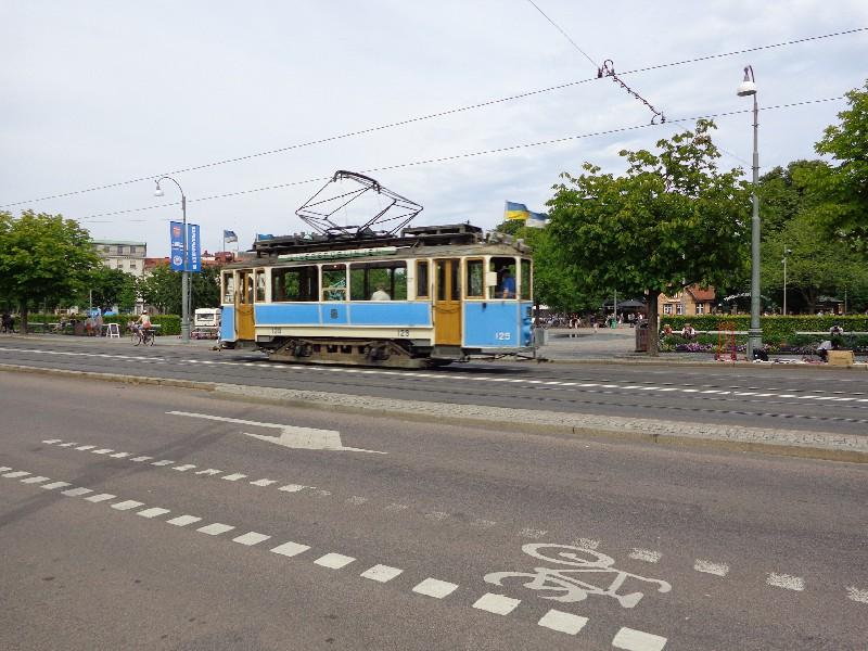 Трамваите се движат в Гьотеборг от 1879 г.