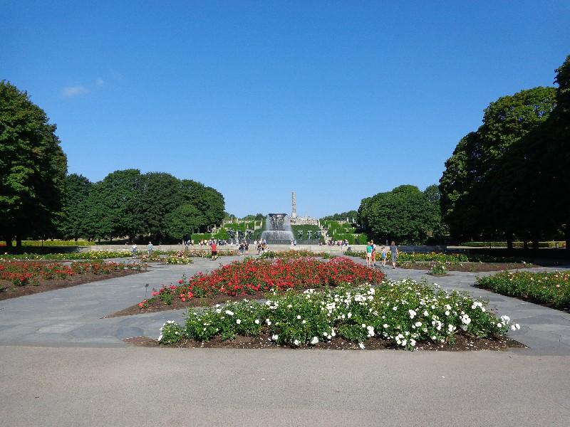 "Осло, парк ""Вигеланд"", приютил великолепните творения на Густав Вигеланд"