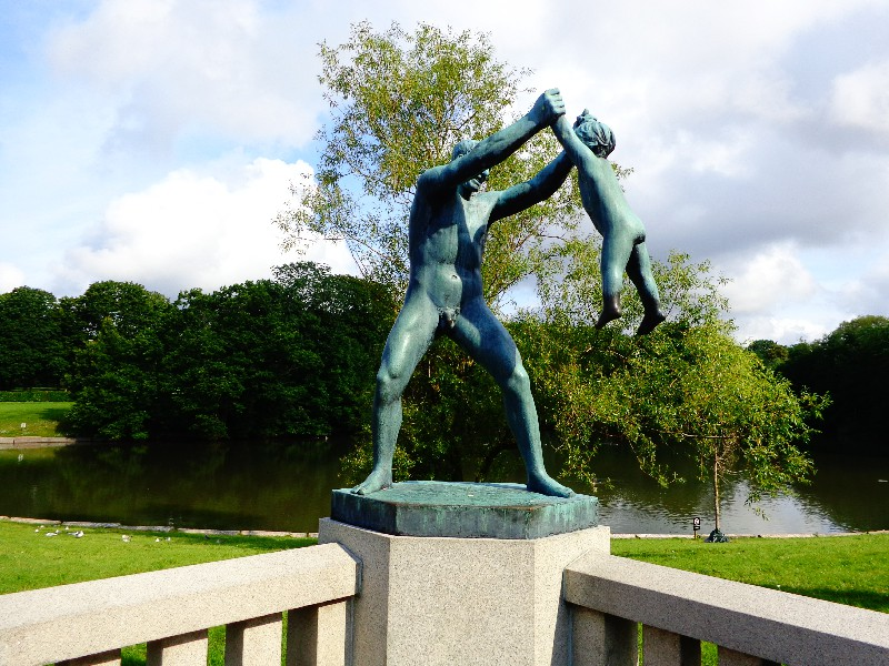 "Осло, парк ""Вигеланд"" – 2"