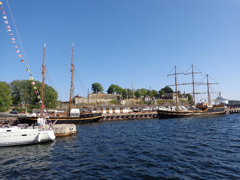 Осло, крепостта Акешхус